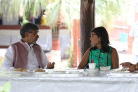 Nikki Haley met Nobel Laureate Mr. Kailash Satyarthi
